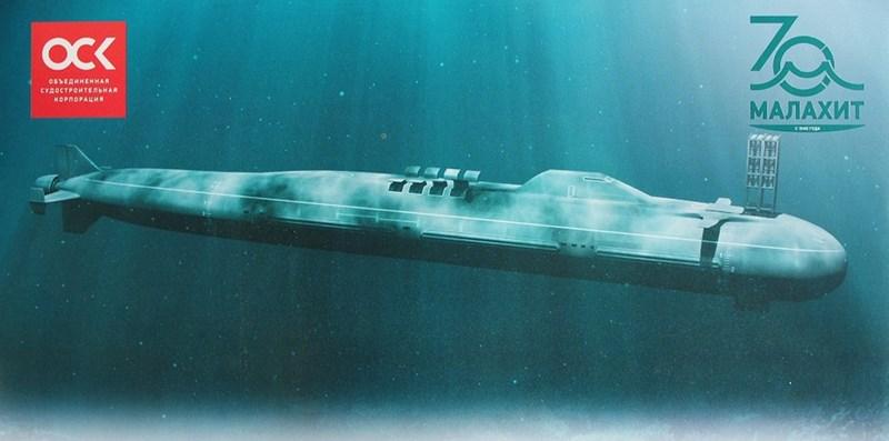 Chiếc Laika dự kiến sẽ được trang bị vũ khí siêu vượt âm, cụ thể là tên lửa 3M22 Zircon hiện đang trải qua các cuộc thử nghiệm trên tàu mặt nước và sẽ sớm có phiên bản phóng từ dưới nước trang bị cho tàu ngầm.