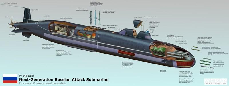 Trước đó đã có không ít dự đoán về thế hệ tàu ngầm thứ năm tuyệt mật của Nga, tuy nhiên đây mới là lần đầu thông tin này được xác nhận một cách chính thức từ người đứng đầu lực lượng hải quân Nga.