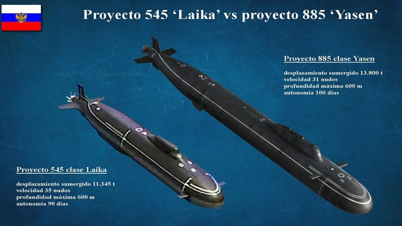 Cần nhớ lại rằng vào tháng 3/2020, Tư lệnh Hải quân Nga đã tiết lộ thông tin sơ bộ về việc chế tạo tàu ngầm tấn công hạt nhân thế hệ thứ năm đầy hứa hẹn thuộc Dự án 545 mang tên Laika (hay còn được gọi là Husky).