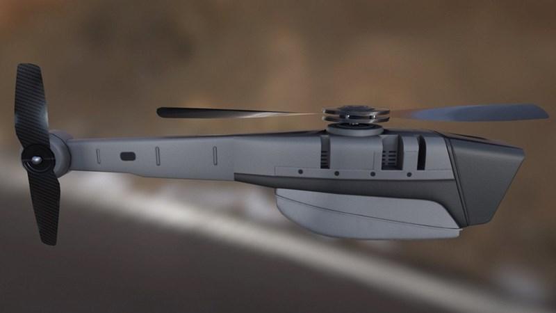 Chiếc UAV trinh sát nhỏ gọn này có khối lượng chỉ 33 gram và dài 168 mm, rất khó thấy được bằng mắt và các phương tiện trinh sát thông thường, có âm thanh cực kỳ nhỏ.