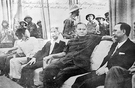 Toàn bộ nội các Sài Gòn bị bắt sống tại Dinh Độc Lập