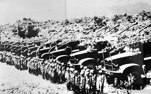Bộ đội pháo binh trước giờ xuất kích