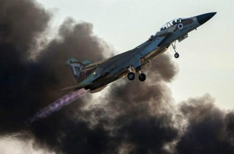 Tiêm kích Israel lần này không xâm nhập lãnh thổ Syria mà tiếp tục bắn tên lửa từ không phận của nước láng giềng Lebanon.
