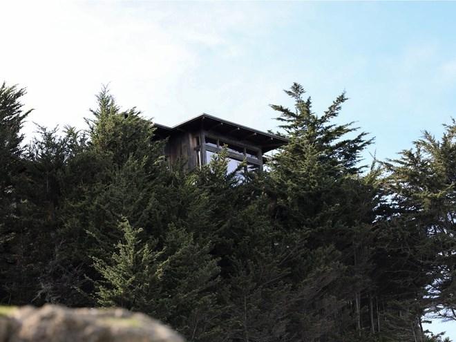 Còn đây là căn nhà được người sáng lập Twitter Jack Dorsey mua với giá 10 triệu USD vào năm 2012. Căn nhà có hai phòng ngủ và hai phòng tắm được ốp gỗ tối màu.