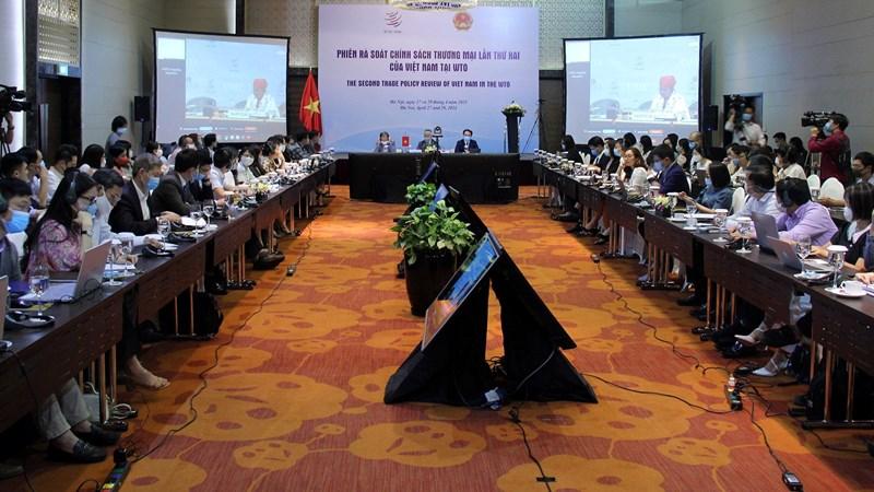 Toàn cảnh phiên rà soát chính sách thương mại lần thứ 2 của Việt Nam tại WTO