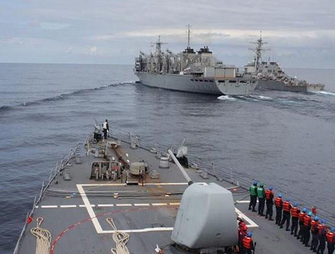 [Ảnh] Hải quân Mỹ đưa tàu chiến vào Biển Barents lần đầu tiên sau 3 thập niên - Ảnh 5
