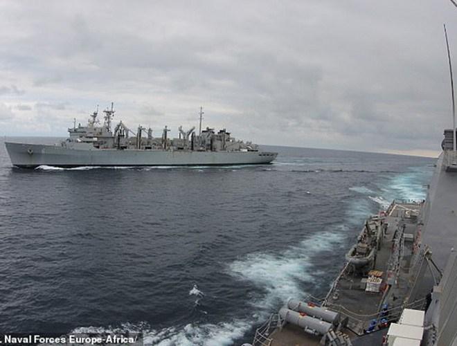 [Ảnh] Hải quân Mỹ đưa tàu chiến vào Biển Barents lần đầu tiên sau 3 thập niên - Ảnh 14