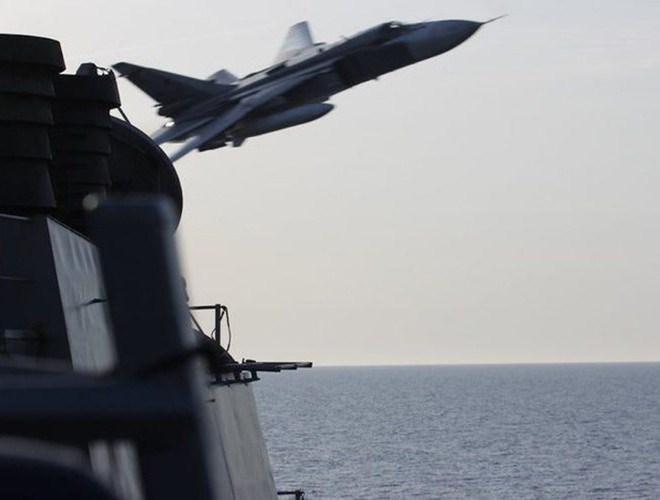 [Ảnh] Hải quân Mỹ đưa tàu chiến vào Biển Barents lần đầu tiên sau 3 thập niên - Ảnh 10