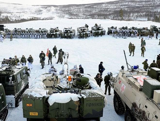 [Ảnh] Hải quân Mỹ đưa tàu chiến vào Biển Barents lần đầu tiên sau 3 thập niên - Ảnh 8