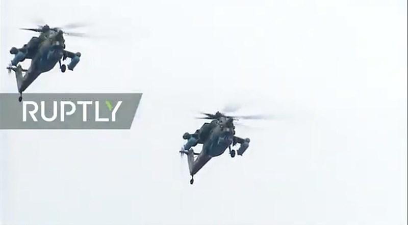 Mi-28 hiện là trực thăng tấn công hạng nặng rất uy lực của Nga. Những chiếc Mi-28 đang được Nga cho tham chiến tại Syria.