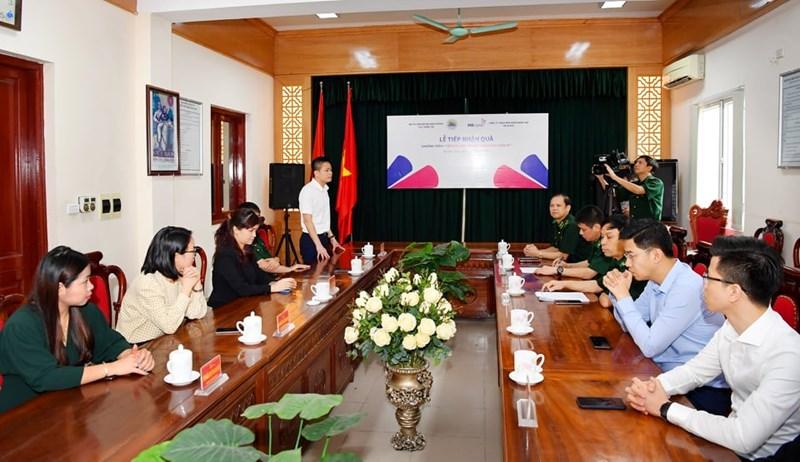 Ngày 26/5/2020, tại Cục chính trị, Bộ Tư lệnh Bộ đội Biên phòng đã diễn ra lễ tiếp nhận quà chương trình