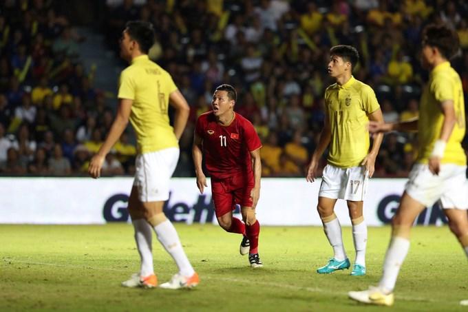 [Video] HLV Park Hang-seo ghi dấu trong trận thắng Thái Lan  - Ảnh 1