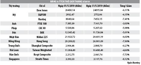 Số liệu thị trường chứng khoán tháng 5/2019 - Ảnh 2