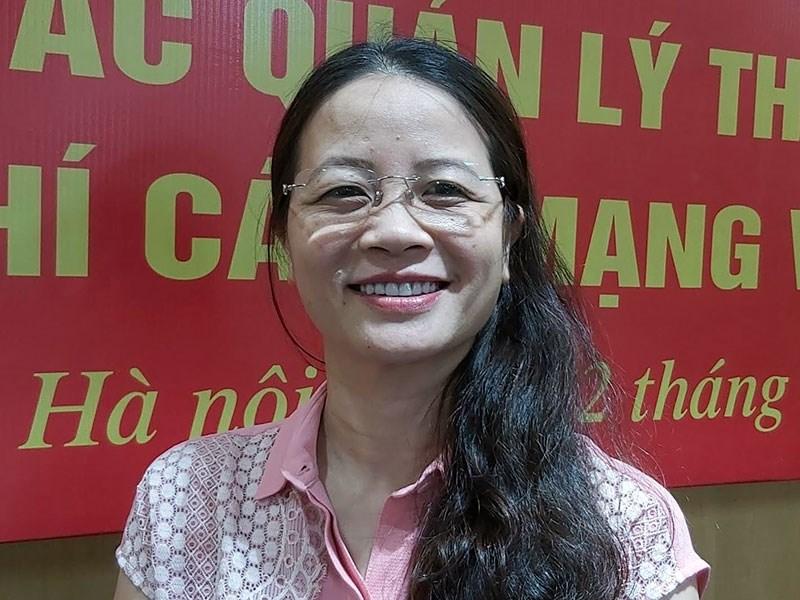 Bà Nguyễn Thị Thu Hà, Phó vụ trưởng Vụ Kê khai và Kế toán thuế (Tổng cục Thuế).