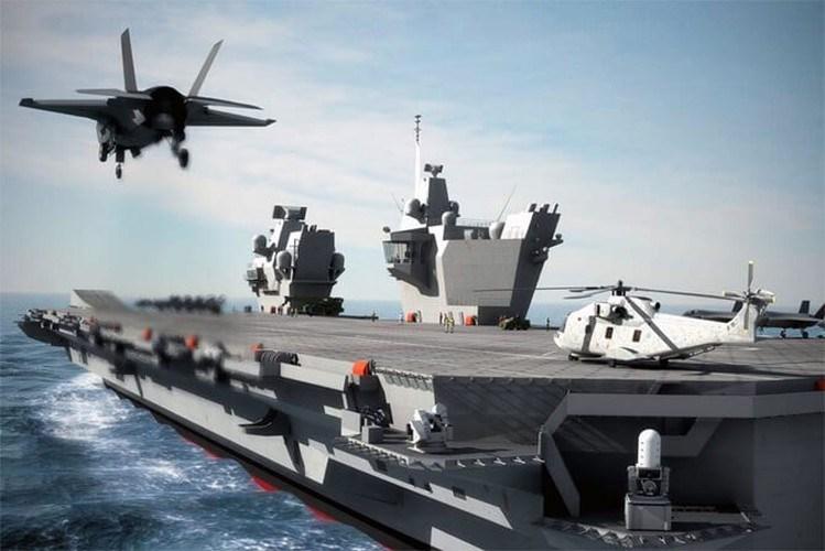 Thậm chí nếu London quyết định điều động hai biên đội tàu sân bay của mình mang theo tiêm kích tàng hình F-35B Lightning II tới điểm nóng thì chỉ cần lực lượng không quá dày, họ vẫn đủ khả năng chiếm ưu thế trước hải quân và không quân Nga.