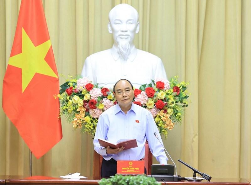 Chủ tịch nước Nguyễn Xuân Phúc: Các bộ, ngành, địa phương cần tiếp tục hỗ trợ các Hội tổ chức các hoạt động tri ân người có công. Ảnh: VGP