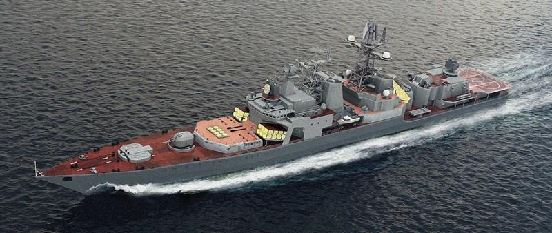 Mặc dù có kích thước lớn nhưng hỏa lực chống hạm tầm xa của tàu khu trục Udaloy bị đánh giá không tương xứng, chính vì vậy hải quân Nga đang tiến hành nâng cấp hàng loạt cho lớp chiến hạm này.