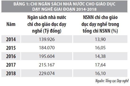 Huy động và phát triển các nguồn lực tài chính cho đào tạo nghề tại Việt Nam - Ảnh 2