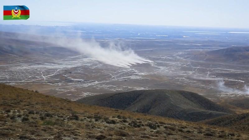 Trang web chính thức của Bộ Quốc phòng Azerbaijan đã công bố những hình ảnh và video ghi lại từ khu vực đào tạo