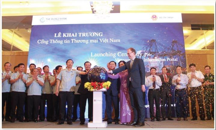 Lễ khai trương vận hành Cổng Thông tin Thương mại Việt Nam (ngày 12/7/2017)