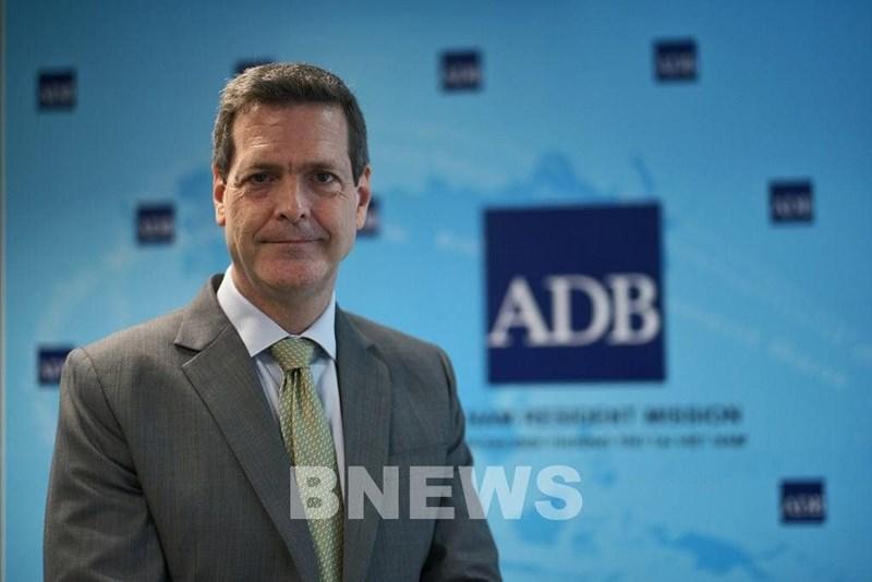 Ông Andrew Jeffries, Giám đốc Quốc gia Ngân hàng Phát triển Châu Á (ADB) tại Việt Nam. Ảnh: Bnews