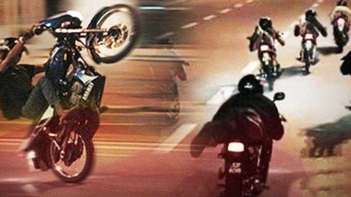 Hành vi đua xe trái phép gây mất ATGT, an ninh trật tự nên cần tăng nặng mức xử phạt (Ảnh minh họa)