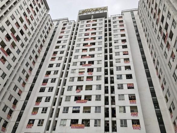Cư dân một dự án chung cư tại quận Nam Từ Liêm phản đối chủ đầu tư chậm bàn giao quỹ bảo trì chung cư. Ảnh minh họa: baochinhphu.vn