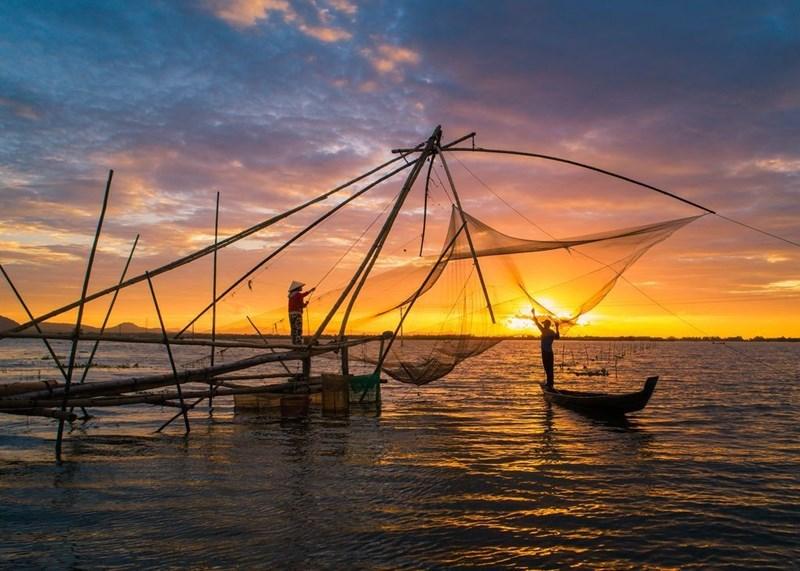 Mùa nước nổi cũng là mùa mưu sinh của người dân miền Tây, lúc này các đàn cá đồng, đặc biệt là cá linh non theo con nước đổ về, mang đến nguồn lợi thủy sản phong phú.