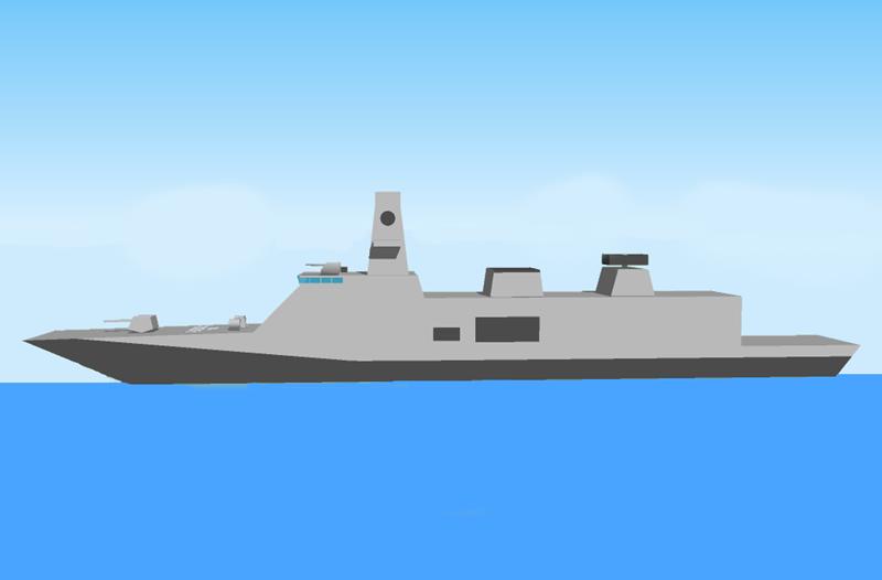 Vũ khí của tàu sẽ bao gồm 1 pháo hạm Oto Melara cỡ 127 mm, 32 tên lửa phòng không tầm trung Barak-8 tầm xa 70 km được dẫn đường bởi radar mảng pha quét chủ động ELM-2248 của Israel