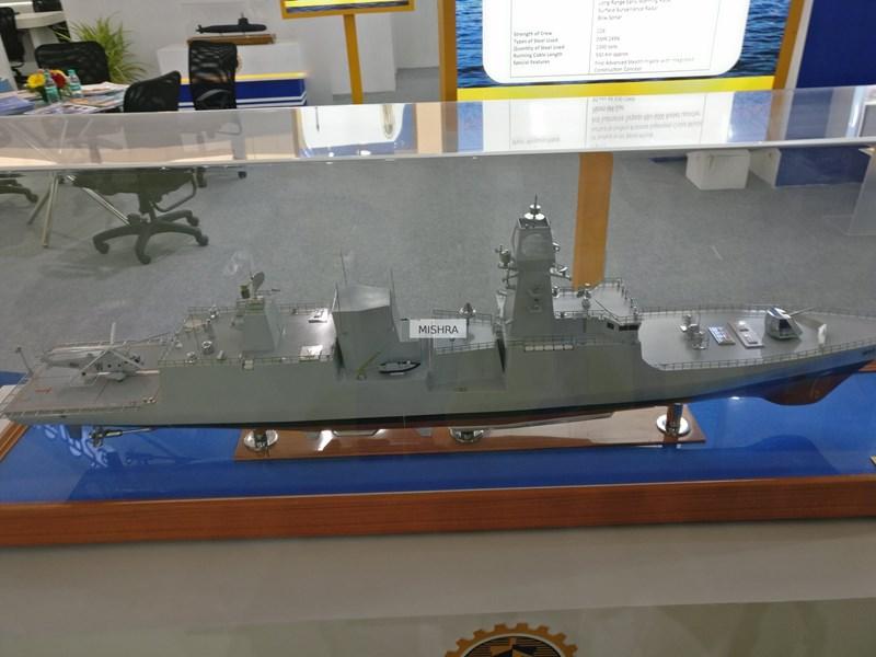 Được biết hợp đồng chế tạo 7 tàu khu trục Dự án 17A chính thức ký kết vào ngày 20-2-2015. Tổng chi phí của loạt chiến hạm này ước tính khoảng 500 tỷ rupee (7,5 tỷ USD)