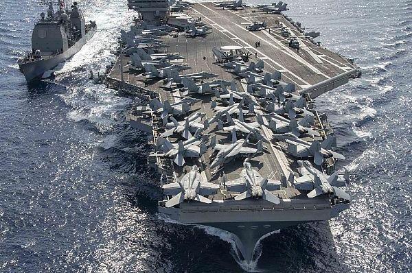 Thời gian gần đây, Hạm đội 7 đã tăng cường hoạt động tuần tra thực hiện tự do hàng hải trên biển Đông, khu vực đang tranh chấp giữa Trung Quốc và một số quốc gia Đông Nam Á.