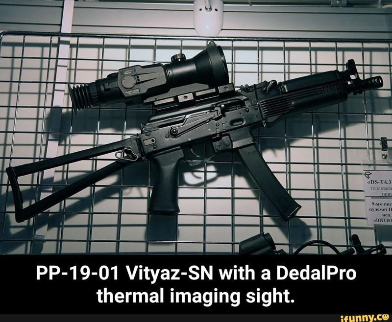 Theo nhà sản xuất, các bộ phận của khẩu súng này tương đồng tới hơn 90% với AKS-74U, vì vậy nhiều chi tiết của súng có thể hoán đổi với AKS-74U hoặc PP-19 Bizon.