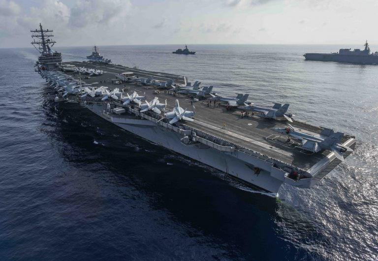 Sức mạnh tàu sân bay còn lớn hơn không quân một quốc gia có tiềm lực quân sự vừa và nhỏ.