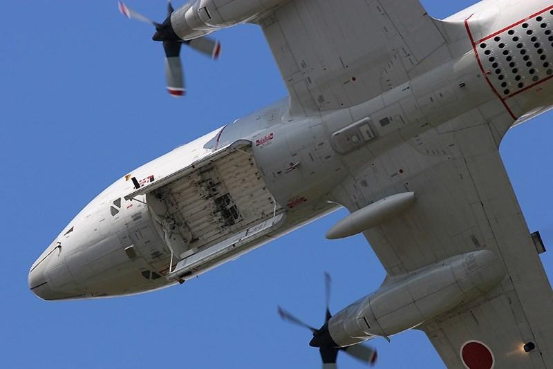 Cụ thể các giá treo có khả năng mang tên lửa chống hạm, ngư lôi, thủy lôi và các loại bom bao gồm cả bom hạt nhân nổ dưới nước Mk 101 Lulu và bom hạt nhân B57 của Mỹ.