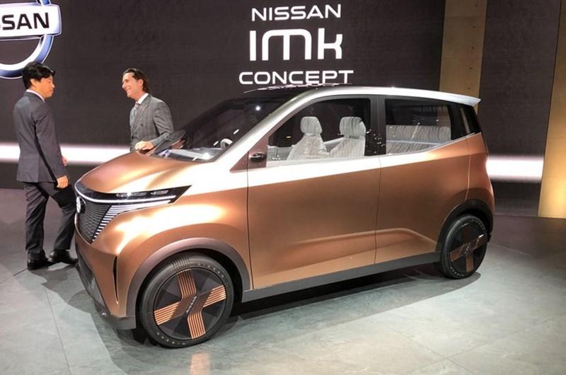 Nissan IMk với thiết kế hướng đến môi trường thành phố chật chội. (Ảnh: Autocar)