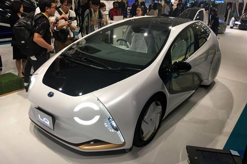 Xe concept tự lái LQ của Toyota với sức mạnh về trí tuệ nhân tạo. (Ảnh: Autocar)