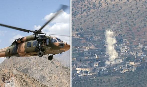 Ngoài ra còn có báo cáo cho biết một cuộc tập kích trên không cũng diễn ra ở khu vực phía Tây thị trấn, tuy nhiên thông tin trên chưa được xác nhận một cách chính thức.