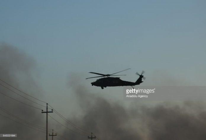 Khả năng đây là trực thăng vũ trang của quân đội Syria tiến hành tập kích vào các vị trí của phiến quân đối lập đã bị bác bỏ bởi hiện tại Damascus không có năng lực tung ra đòn đánh kiểu như vậy.
