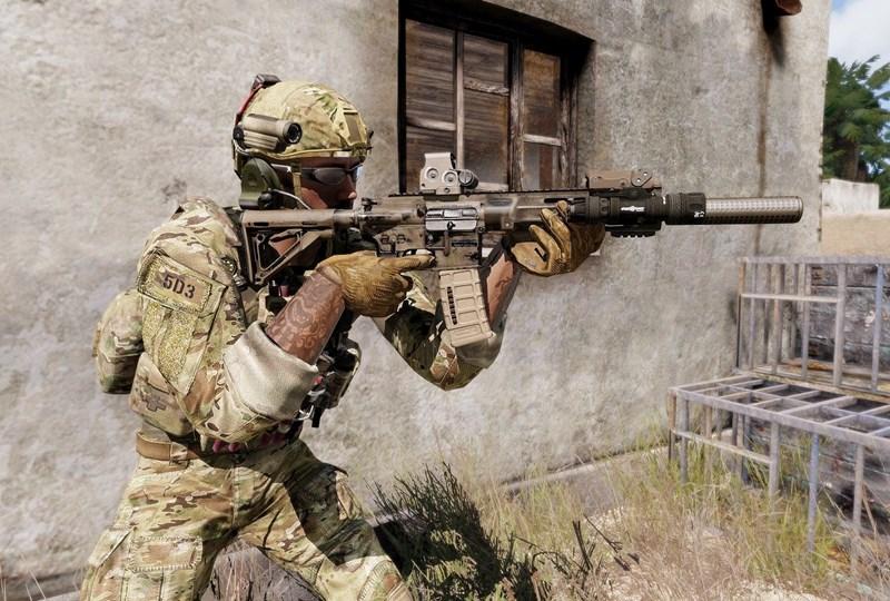 Với những tính năng thể hiện xuất sắc trong thực chiến, HK416 chính là khẩu súng ưa thích của những binh sĩ đặc nhiệm thuộc lực lượng Delta Force.