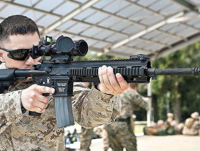 Cơ cấu module hóa của HK416 cũng giúp việc thay thế, nâng cấp và sửa chữa dễ dàng hơn.