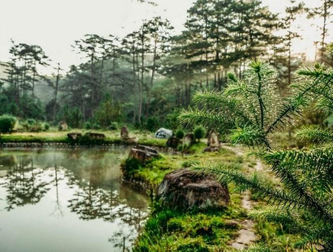 Vườn quốc gia thứ hai được công nhận là Vườn Di sản ASEAN nằm ở huyện Lạc Dương, huyện Đam Rông của tỉnh Lâm Đồng. Đó là vườn quốc gia Bidoup Núi Bà