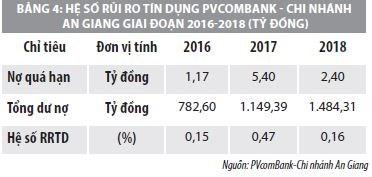 Nâng cao hiệu quả quản lý rủi ro tín dụng tại  PVcomBank – chi nhánh An Giang - Ảnh 3