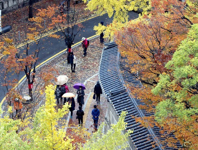 Con đường kéo dài từ Deoksu đến nhà hát Jeongdong trong cung điện Deoksugung ở Seoul là một trong những địa điểm bạn không nên bỏ qua nếu có dịp ghé thăm Hàn Quốc