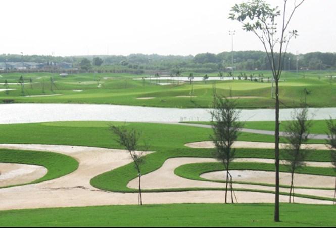 Sân golf Phú Mỹ xây dựng trên khu đất 145 ha