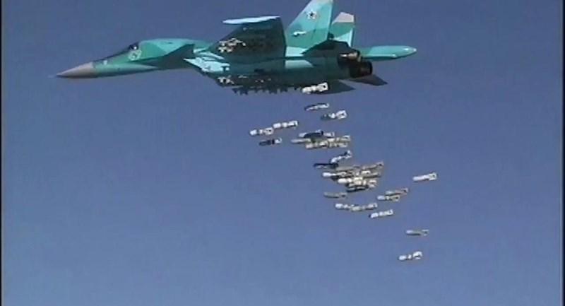Thông qua những trận ném bom đánh phá dữ dội vừa qua, không quân Nga và Syria muốn gửi thông điệp rằng họ hoàn toàn đủ khả năng đối phó với sự trỗi dậy của phiến quân khủng bố.