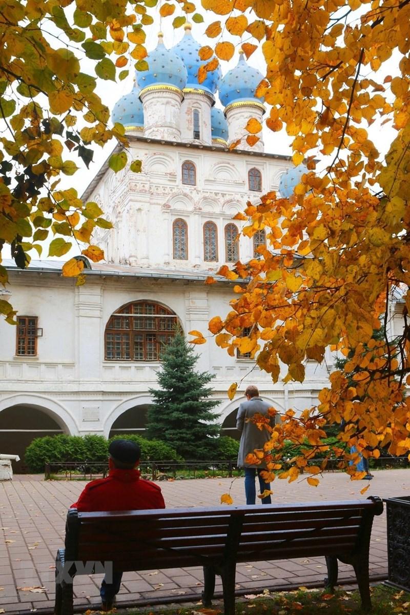 Kolomensk là nơi du khách có thể tìm hiểu về lịch sử công viên, lịch sử nước Nga, tận hưởng vẻ đẹp thiên nhiên và sự yên bình. (Ảnh: Trần Hiếu/TTXVN)