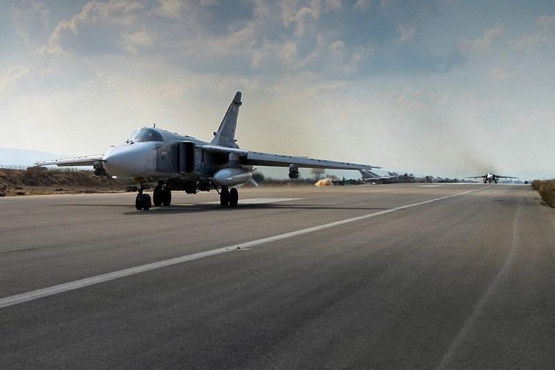 Tại thời kỳ cao điểm, lực lượng hàng không - vũ trụ Nga đã triển khai tại sân bay Hmeimim hơn 50 máy bay chiến đấu các loại cùng nhiều tổ hợp tên lửa phòng không tối tân.