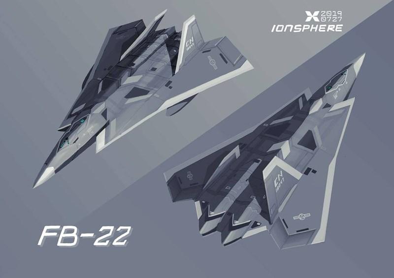 FB-22 sẽ mang tải trọng vũ khí 6,8 tấn trong cấu hình tàng hình và gần 13 tấn trong cấu hình không tàng hình.