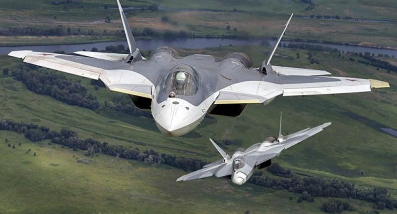 Tiêm kích tàng hình Su-57 là chiến đấu cơ thế hệ 5 đầu tiên của Nga được đưa vào trang bị, nó nhận kỳ vọng sẽ giúp cho không quân nước này hạn chế bớt ưu thế vượt trội của Mỹ.