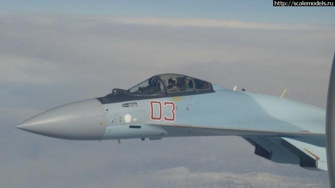 Được biết, 2 chiếc Su-35 của Nga đã cất cánh từ căn cứ không quân Hmeimim, ban đầu bay về phía Đông và Đông Nam, tuy nhiên, sau vài phút, những chiếc tiêm kích này đã được phát hiện ở phía Nam Syria.